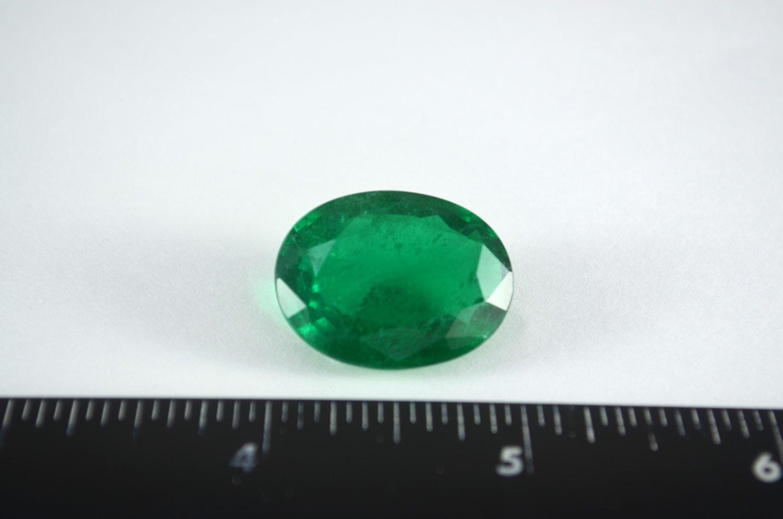 30.50 Carat Natural Zambian Emerald Oval