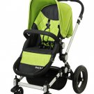 Dream on Me Acrobat, Multi Terrain Stroller & Bassinet, Green - 470G