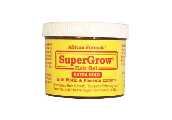 SuperGrow Hair Gel Extra Hold 4oz