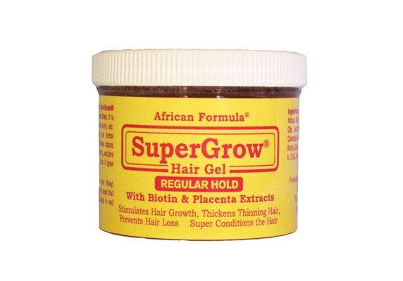SuperGrow Hair Gel Regular Hold 4oz