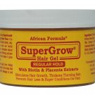 SuperGrow Hair Gel Regular Hold 8oz