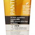 Pantene Pro-V 24 Hour Weightless Volume Gel 6.8 Oz (Pack of 3)