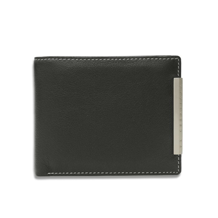 Cow Leather Collection Short Wallet -EIW55808-01