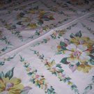 Vintage beautiful Wilendur Magnolia tablecloth