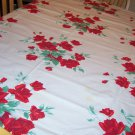 Wilendure American Rose vintage tablecloth