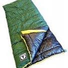 The Backside: Black Pine Sports 20 degree Classic Square Sleeping Bag