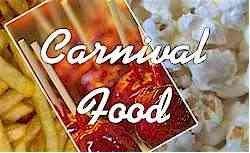 Carnaval Fair Festival Concession Food Recipes