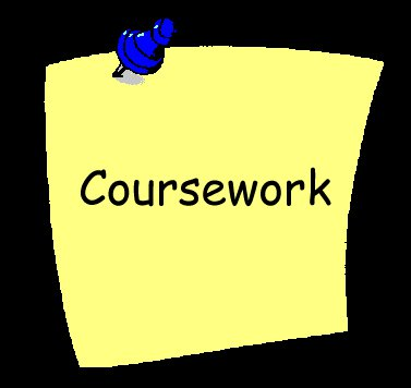 of coursework Connect with thousands of other learners and debate ideas, discuss course material, and get help mastering concepts.