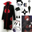 Fastest Shipping Naruto Akatsuki cloak Sasori Cosplay Costume