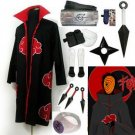Fastest Shipping Naruto Akatsuki cloak Tobi Cosplay Costume