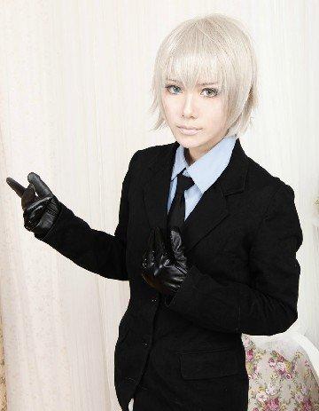 Miketsukami Soushi Offwhite Cosplay Wig
