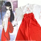 Inuyasha Kikyo cosplay costume and wig