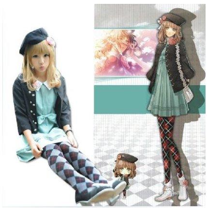 A Set Of Amnesia Heroine Dress Cosplay Costume