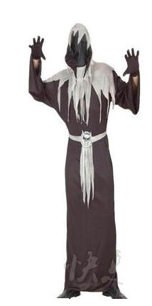 Free shipping Ghost Cosplay Costume
