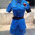 Hellsing Seras Victoria Blue Cosplay Costume