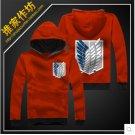 Attack on Titan Jiyu no Tsubasa Sweater Cosplay Costume(Red)
