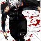 Fast Shipping Tokyo Ghoul Kaneki Ken  Cosplay Costume (Include:mask )