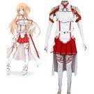 Sword Art Online Asuna/Yuuki Asuna Cosplay Costume