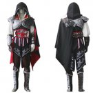 Custom made Assassin's Creed II Ezio Auditore da Firenze Black Cosplay Costume
