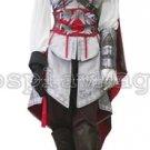 Assassin's Creed II Ezio Auditore da Firenze Female White Cosplay Costume