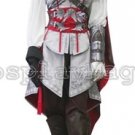 Custom made Assassin's Creed II Ezio Auditore da Firenze Female White Cosplay Costume