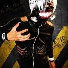 Tokyo Ghoul Kaneki Ken Suit Cosplay Costume (Include:wig)