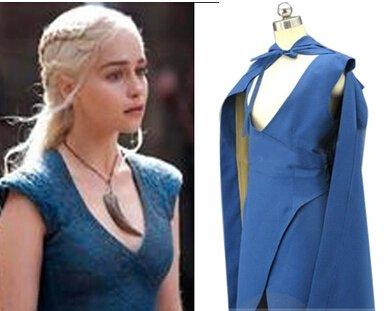 Custom Made Game of Thrones Daenerys Targaryen Cosplay costume