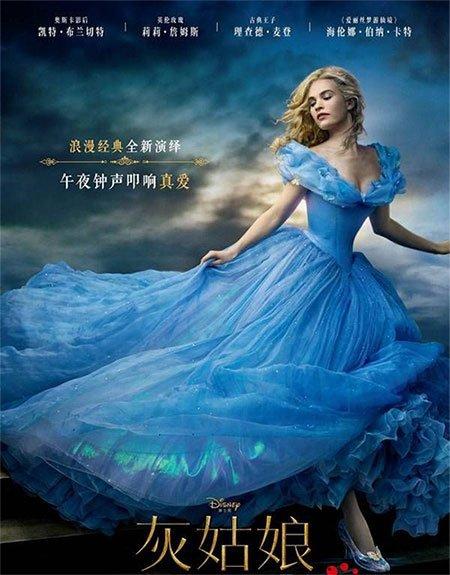 Custom Made New 2015 Cinderella Princess Dress