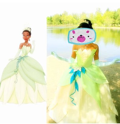 Custom Made The Princess and the Frog Tiana Princess Dress