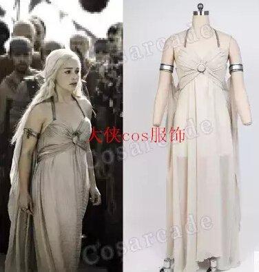 Game of Thrones Daenerys Targaryen Dress