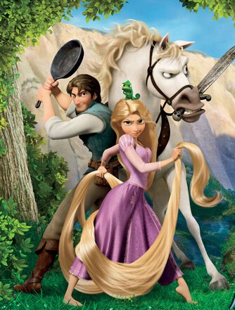 Custom Made Tangled Rapunzel Flynn Rider Cosplay Costume