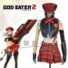 Free Shipping God Eater Alisa Cosplay Costume