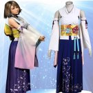 Custom made Final Fantasy X Yuna Cosplay Costume