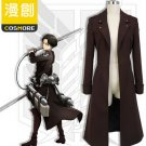 Attack on Titan Levi Cosplay Cloak