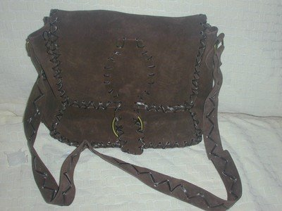 handbagbargains: Leather Suede Handbag