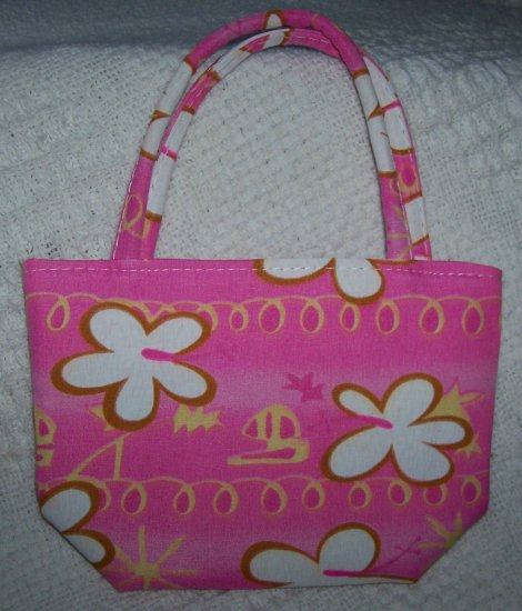 handbagbargains: Pink Flower Mini Purse