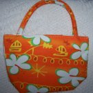 handbagbargains: Orange Flower Mini Purse