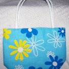 handbagbargains: Blue Flowered Purse Retro Look