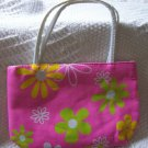 handbagbargains: Pink Flowered Purse Retro Look