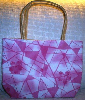 handbagbargains: Pink Geometric Design Purse