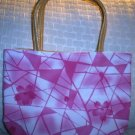 handbagbargains: Pink Geometric Design Purse