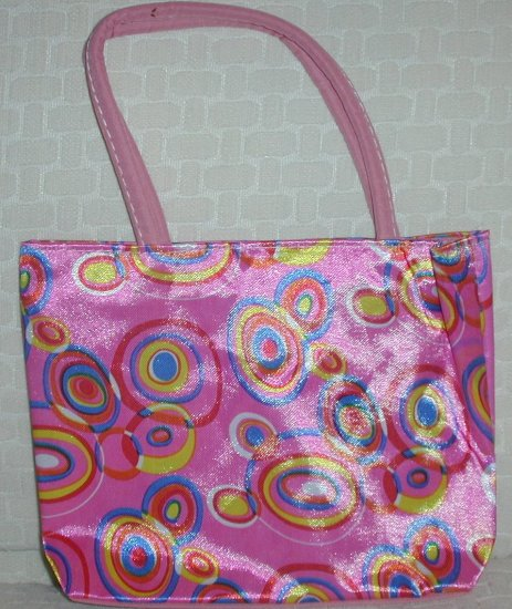 handbagbargains: Pink Retro Circles (Bubble) Purse