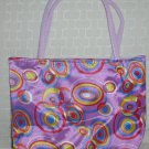handbagbargains: Purple Retro Circles (Bubbles) Purse