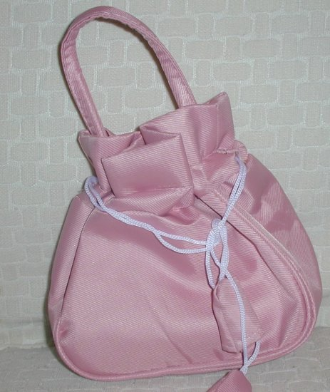 handbagbargains: Pink Drawstring Purse