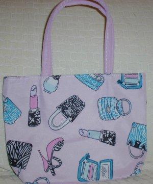 handbagbargains: Pink Teen Accessory Print Purse