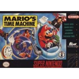 Mario's Time Machine  Super Nintendo Game