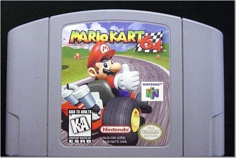 Mario Kart 64 Game ~ N64 Nintendo 64
