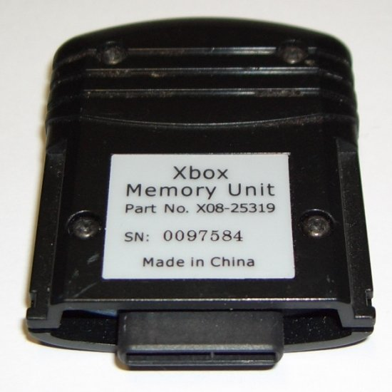Microsoft X08-25319 Memory Unit For Use With Compatible Xbox Controllers 8MB