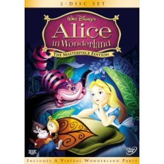 Walt Disney's Alice in Wonderland (Masterpiece Edition) 2 Disc Set ~New