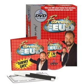 * Family Fued DVD Game SURVEY SAYS! Never Used- Only Opened